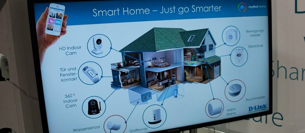 IFA 2015: D-Link zeigt umfangreiches Smart Home Sortiment