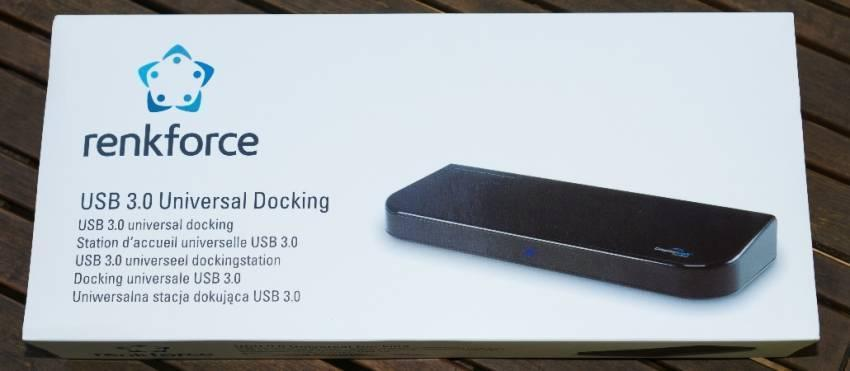 Praxistest: Renkforce USB 3.0 Docking-Station für Tablets und Co.