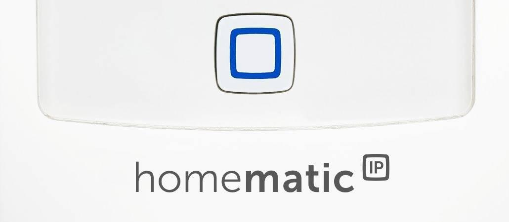 Homematic IP ab sofort in HomeMatic CCU2 integriert