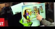 CeBIT: Gläserne Displays bringen die Zukunft etwas näher