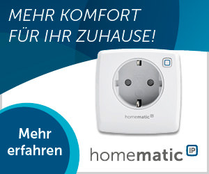 Mehr Komfort mit Homematic IP