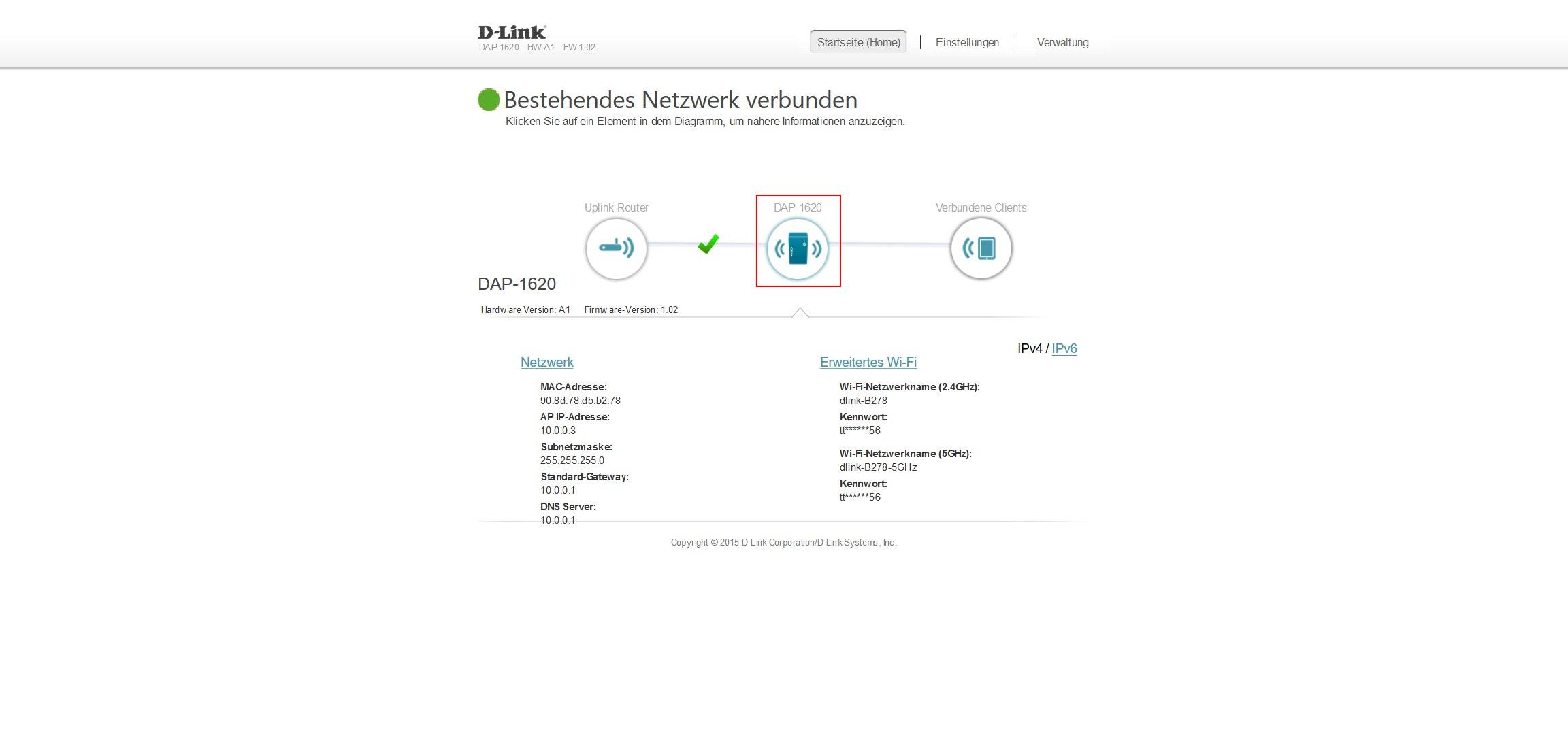 D-Link AC1200-DAP-1620-Wi-Fi Range Extender im Praxistest