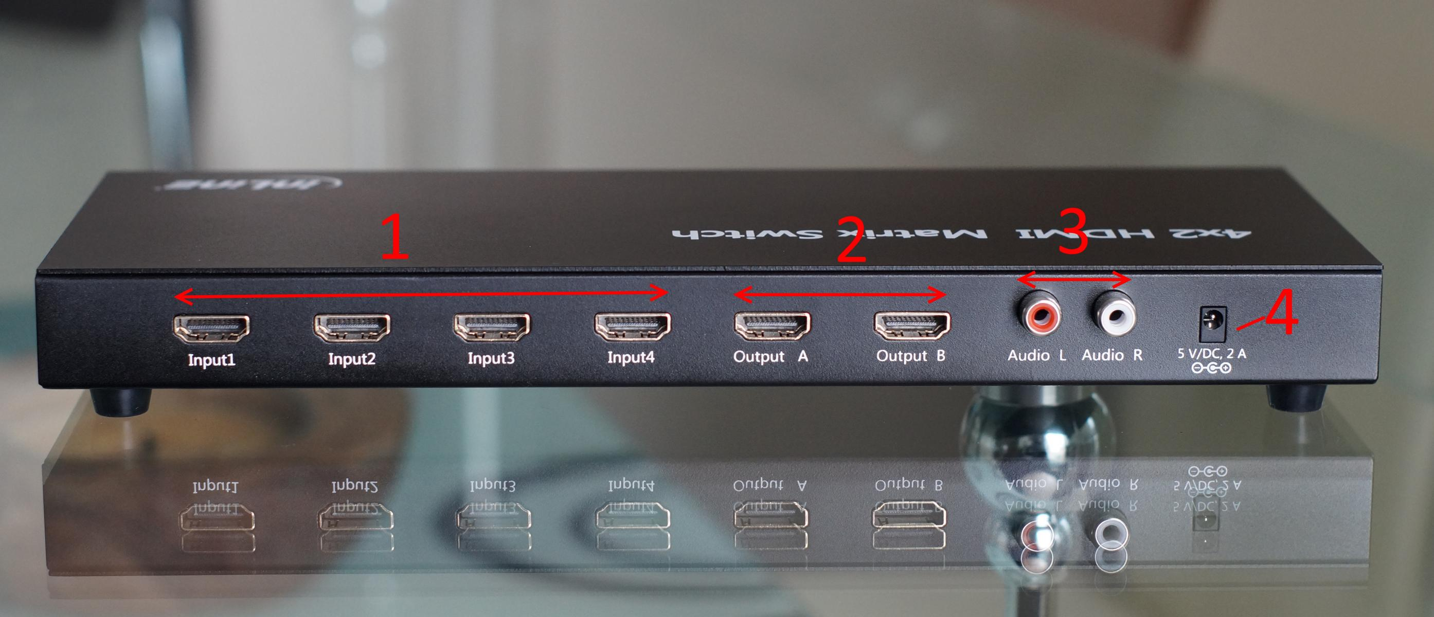 InLine - HDMI-MATRIX-SWITCH im Praxistest