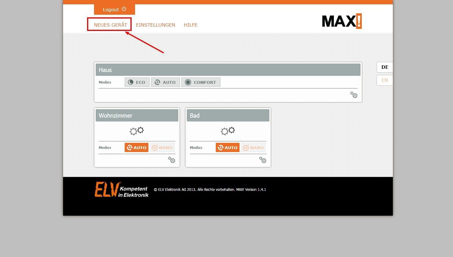 Die max heizungsregelung richtig einbauen und einrichten for Raum einrichten software