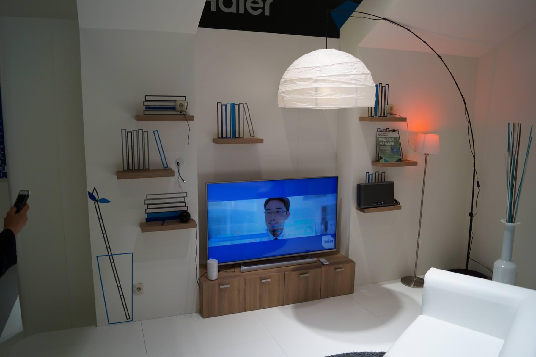 ifa 2014 haier zeigt vernetzten k hlschrank und touchscreen waschmaschine. Black Bedroom Furniture Sets. Home Design Ideas