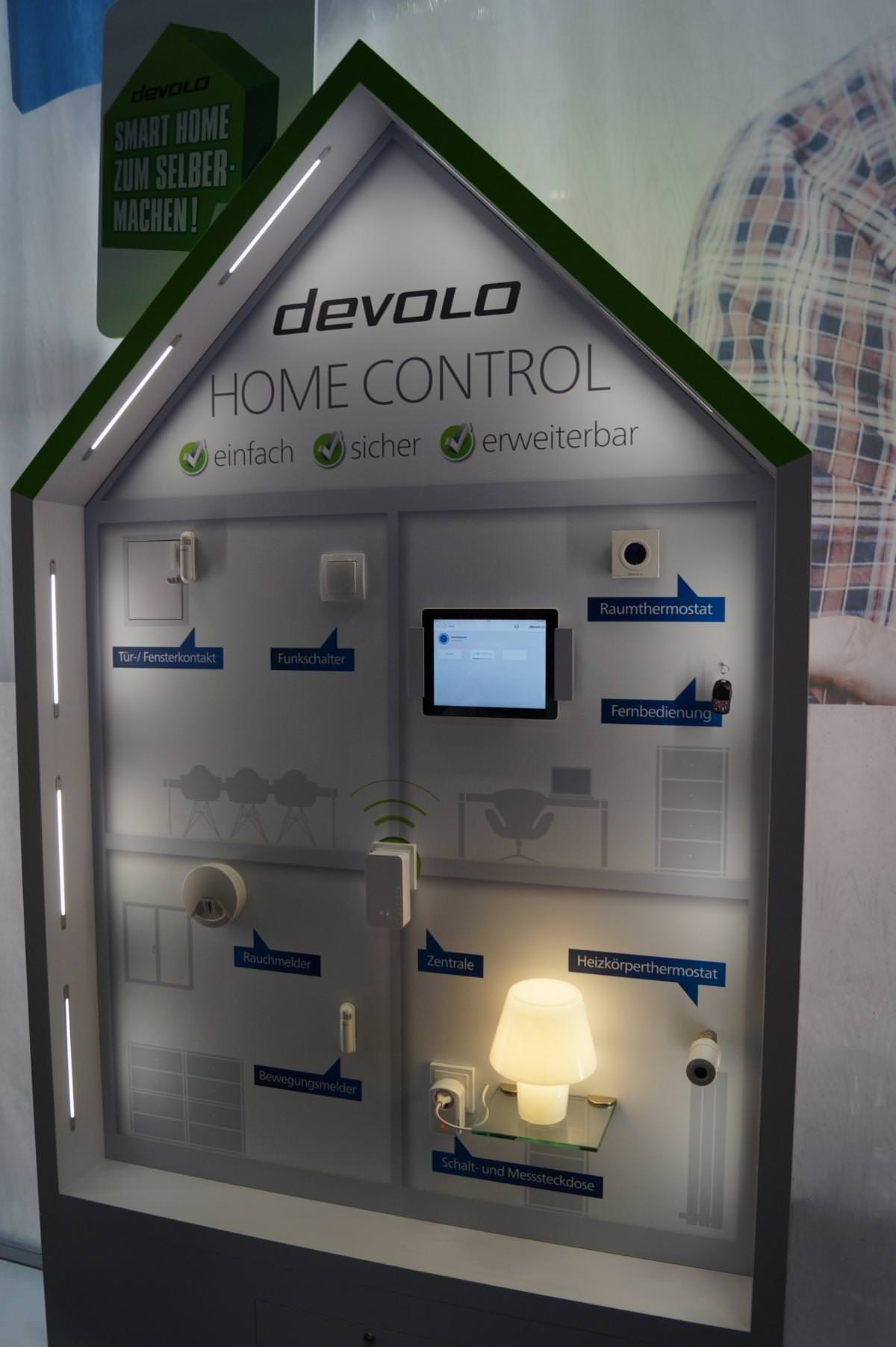 IFA 2014: Devolo zeigt Smarthome-System und schnelles DLAN