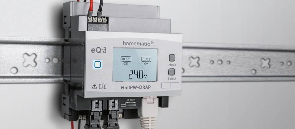 eQ-3 stellt Homematic IP Wired vor
